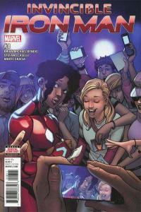 Invincible Iron Man (Jan 2017 series) #8, NM (Stock photo)
