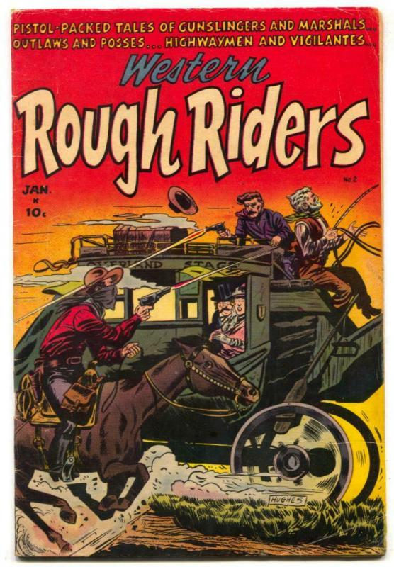 Western Rough Riders #2 1955- Golden Age VG/F