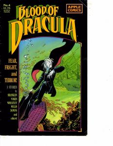 Lot Of 2 Comic Books Apple Blood of Dracule #4 and #10  ON13