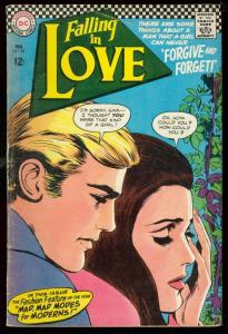 FALLIN IN LOVE #89 1967-DC COMICS-ROMANCE-BATMAN DRESS! VG