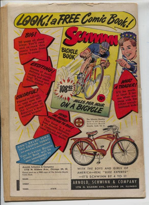 Dick Cole #6 1949-Star-L.B. Cole-Al McWilliams-Bullseye Bill-bondage-VG-