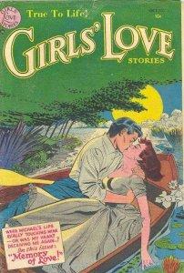 Girls' Love Stories #31, Good- (Stock photo)