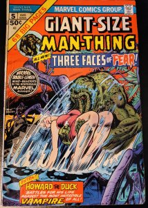 Giant-Size Man-Thing #5 (1975) F