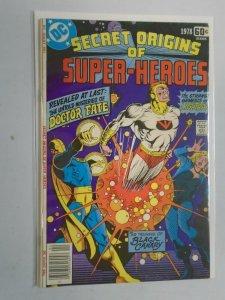 DC Special Series #10 Secret origins of Doctor Fate 6.5 FN+ (1979)