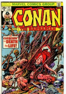 Conan #41 (6.0-6.5) 1974 THE GARDEN OF LIFE AND DEATH! Bronze Age Marvel ID07G
