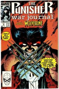 Punisher War Journal   vol. 1   # 6 VF