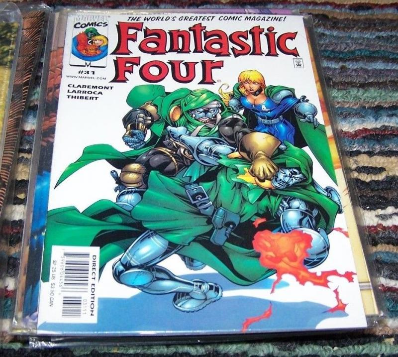 FANTASTIC FOUR #31  vol 3 2000 marvel    doctor doom
