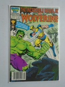 Incredible Hulk and Wolverine #1 5.0 VG FN (1986)