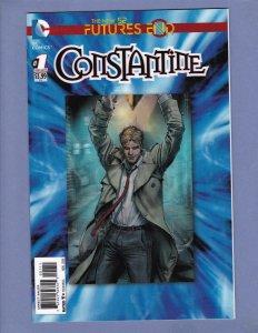 Constantine Futures End #1 3-D Cover NM DC 2014