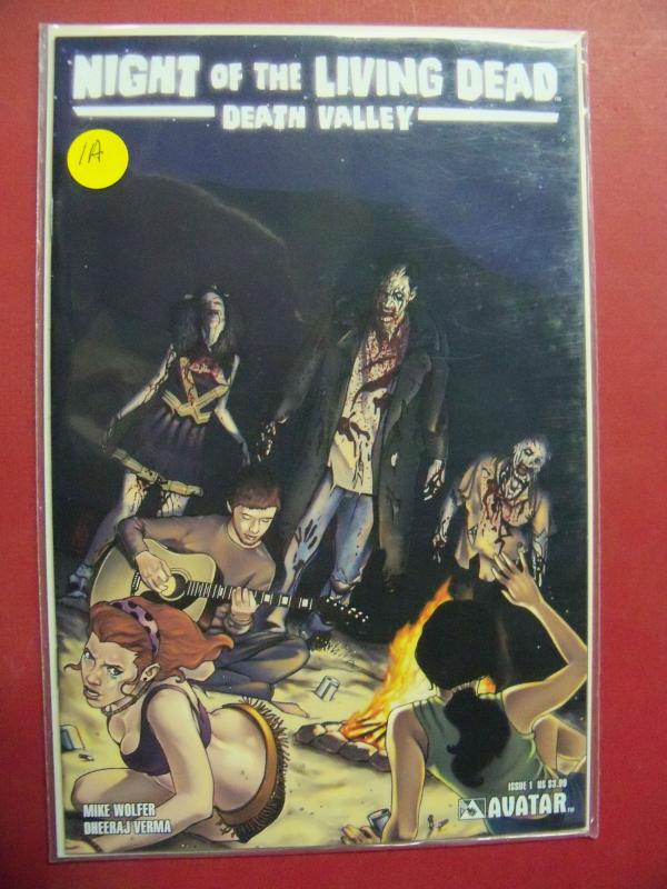 LOT/COLLECTION OF 11 NIGHT OF THE LIVING DEAD DEATH VALLEY WITH VARIANT COVERS