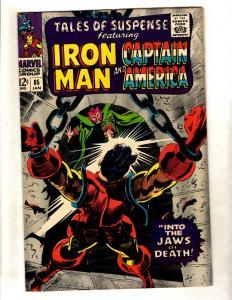 Tales Of Suspense # 85 NM- Marvel Comic Book Iron Man Captain America FM3