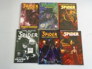 The Spider Pulp TPB SC lot 16 different books