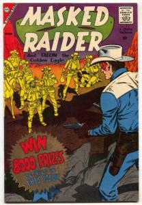 Masked Raider #17 1959- Charlton Western- VF-