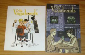 the Vagabonds #1-2 VF/NM complete series - josh neufeld - alternative comics set