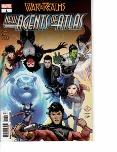 New Agents of Atlas (2019) 1 NM (9.4)