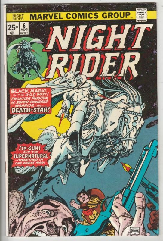 Night Rider, The #6 (Aug-75) VF/NM High-Grade Ghost Rider