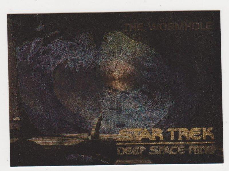 1993 Star Trek Deep Space 9 Spectra Card #S5 The Wormhole