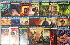 WONDER WOMAN#1-24 VF/NM LOT (22 BOOKS) DC UNIVERSE REBIRTH COMICS