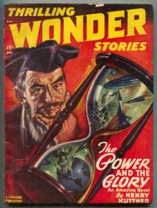 Thrilling Wonder Stories Pulp December 1947- Power and the Glory