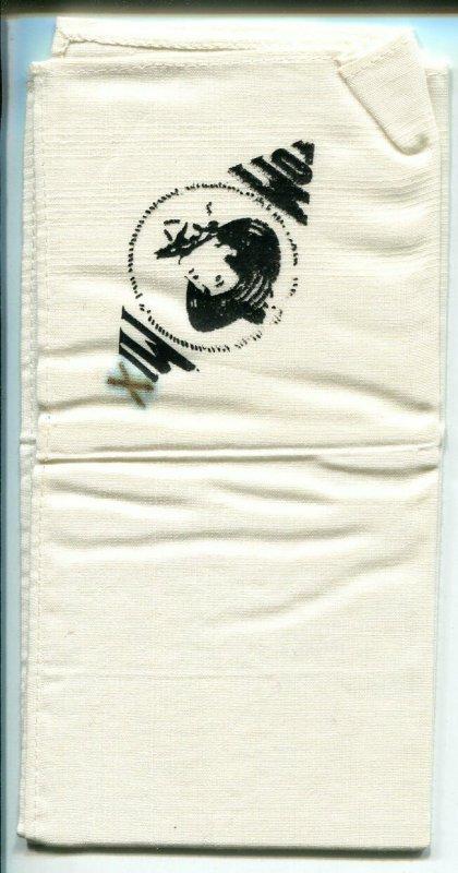 Tom Mix Handkerchief 1940's-14 X 14-rare item-VG