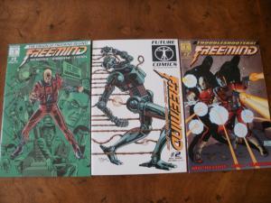 Freemind #1 #2 #7 (Future Comics) 2002 2003 Origin