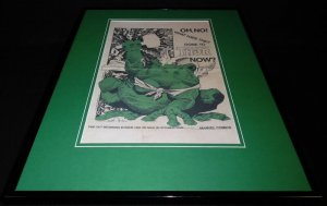 Thor 1985 Thunder Frog Framed 16x20 Poster Display Official Repro