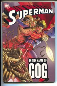 Superman: In The Name Of Gog-Ivan Reis-TPB-trade