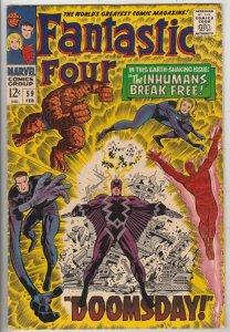 Fantastic Four #59 (Feb-67) VF+ High-Grade Fantastic Four, Mr. Fantastic (Ree...