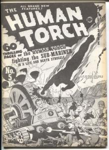 Flashback #2 1970's-Reprints The Human Torch #5 from 1941-VF