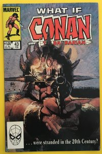 WHAT IF 43 CONAN WERE STRANDED IN 20TH CENTURY? MARVEL