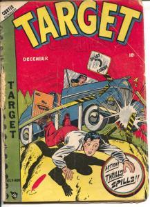 Target Vol. 9 #9 1948--LB Cole auto crash cover-Gary Stark-Don Rico-G