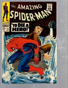 Amazing Spider-Man # 52 VF Marvel Comic Book Lizard Vulture Goblin Scorpion TJ1