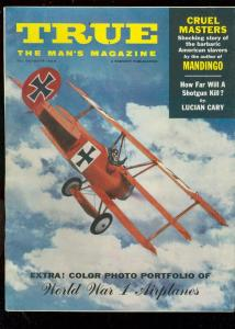 TRUE MAGAZINE OCT 1959-WWI PLANES-PEPPER MARTIN FN
