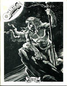 Omnicon Program Book 1976-Louisville KY-Don Rosa-Brunner-Star Trek-VG/FN