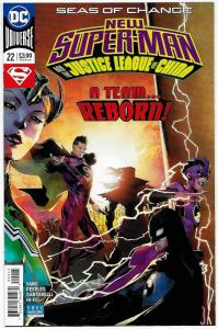 New Super-Man and the Justice League of China #22 (DC, 2018) NM