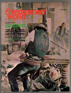 Entertainment World 1/15/1970-Wild Bunch-Sam Peckinpah-VF