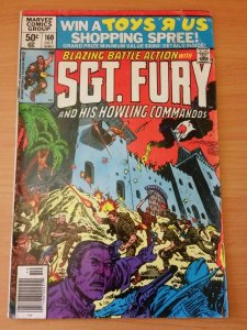 Sgt Fury #160 Howling Commandos! ~ VERY GOOD VG ~ 1980 MARVEL Comics