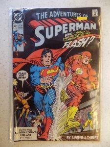 ADVENTURES OF SUPERMAN # 463