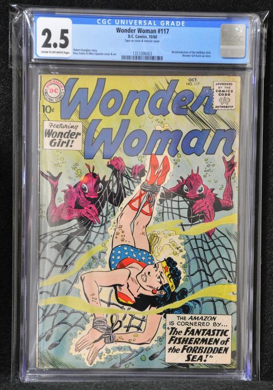 Wonder Woman #117 (DC, 1960)