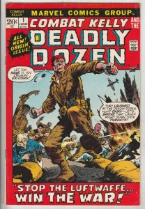 Combat Kelly and His Deadly Dozen #1 (Jun-72) VF/NM High-Grade Combat Kelly a...