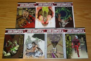 God Complex #1-7 VF/NM complete series MICHAEL AVON OEMING greek mythology set