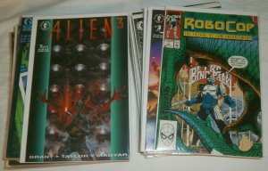 Aliens vs Predator, Robocop, Terminator, Quantum Leap TV movie, comics lot of 61