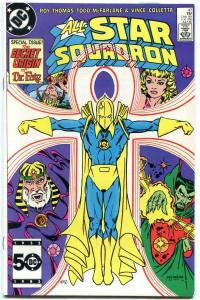 ALL-STAR SQUADRON #47 FIRST TODD MCFARLANE art comic book--NM