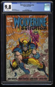Wolverine: Evilution #nn CGC NM/M 9.8 White Pages TPB