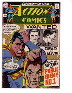 ACTION COMICS #374 1969-SUPERMAN-DC COMICS NEAL ADAMS VG