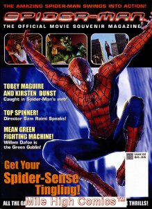 SPIDER-MAN OFFICIAL MOVIE SOUVENIR MAGAZINE (2002 Series) #1 NEWSSTAND Near Mint