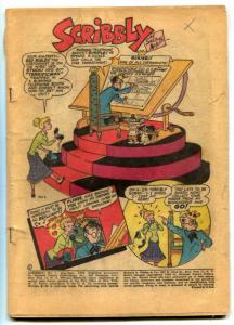 Scribbly Comics #1 1948- Sheldon Mayer cover- LOW GRADE