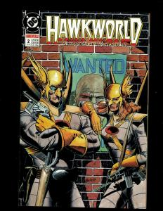 13 Comics Hawkworld #1 2 3 7 8 9 14, Annual #2, Hawkman #0 6 13 21 24 J344