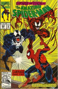 Amazing Spider-Man, The #362 VF/NM; Marvel   save on shipping - details inside