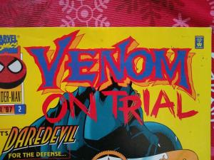 Venom On Trial #2 (1997) Matt Murdock (Daerdevil) Spider-Man app  LOW GRADE